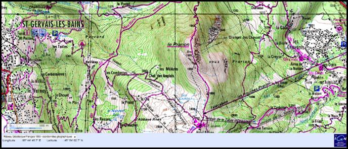 Carte Geographique Andalousie.Ou Trouver Des Cartes Pour Vos Randonnees Randonner Malin
