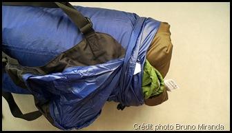 Entretien et lavage d'un sac de couchage