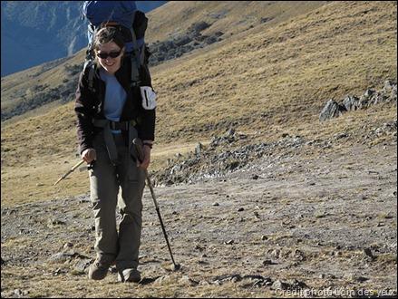 Sac à dos de randonnée trop lourd