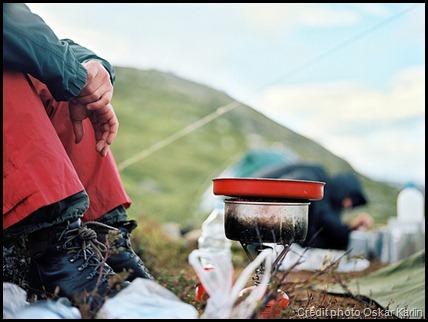 Cuisine en randonnée