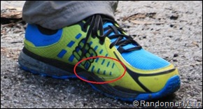 Maintien chaussures Peakfreak