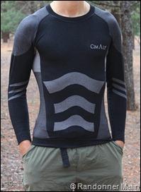 Sous-vêtements Cimalp Strategic - haut + devant