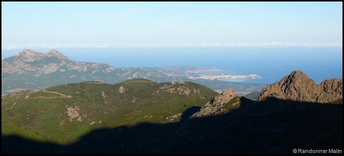 Vue sur Calvi et sa citadelle