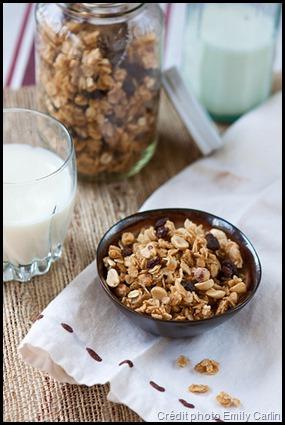Recette de granola pour la randonnée - un petit-déjeuner énergétique et bon