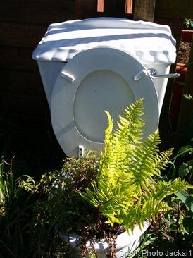 Du papier toilette et des étrons en guise de balisage