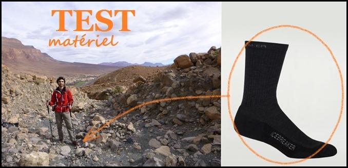 [Test] Chaussettes Icebreaker Hike Lite Crew en laine mérinos