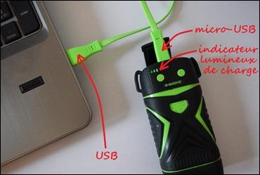 Recharger la batterie externe pour vos randonnées