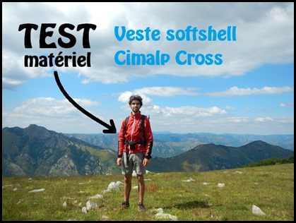 Test veste softshell Cimalp Cross