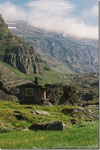Première randonnée de plusieurs jours : refuge de montagne
