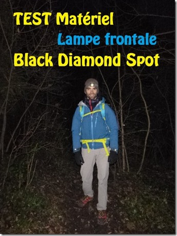 [Test] Lampe frontale Black Diamond Spot