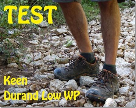 nouveau produit c4706 f1f4b Test] Chaussures Keen Durand Low WP - Randonner Malin