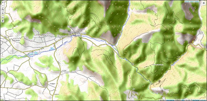 cartes topographiques en ligne et g u00e9oportails dans le monde