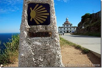 Borne 0 km - Cape Finisterre