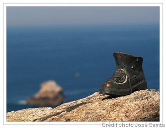 Chaussure du pèlerin - Cap Finisterre