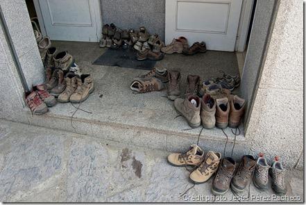 Chaussures - Saint-Jacques de Compostelle