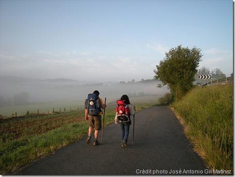 Chemin de Compostelle - compagnons