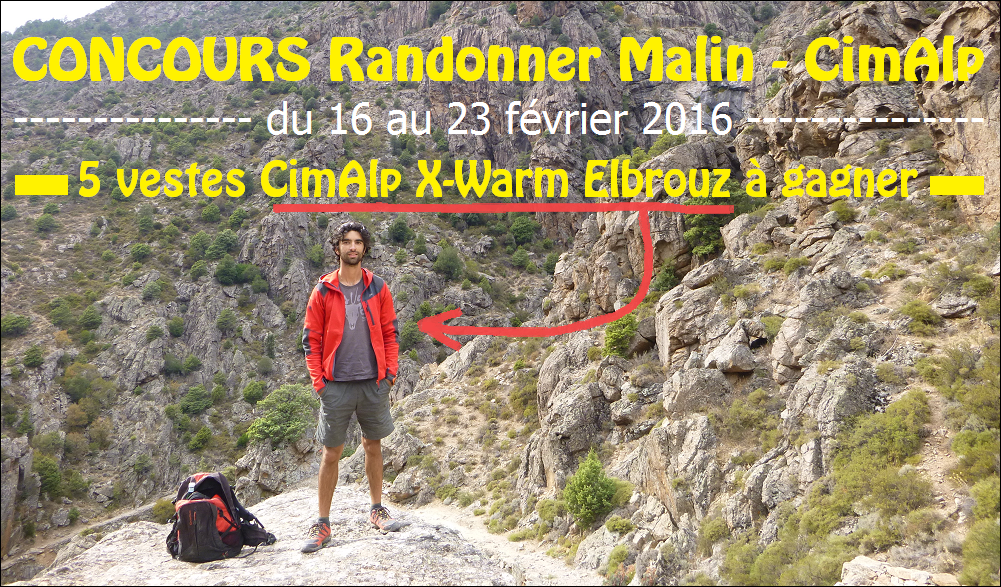 Concours Randonner Malin CimAlp