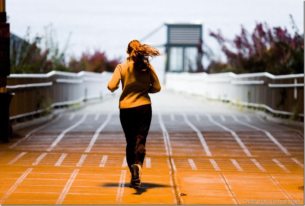 Course à pied - entraînement randonnée
