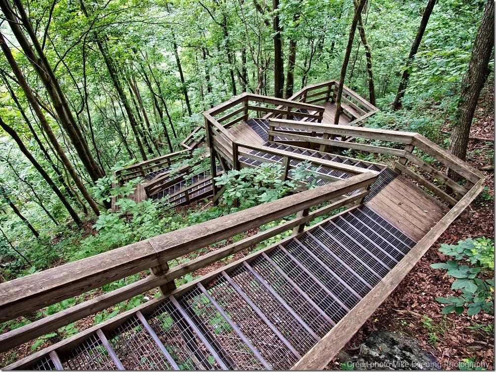 Escaliers - entraînement randonnée