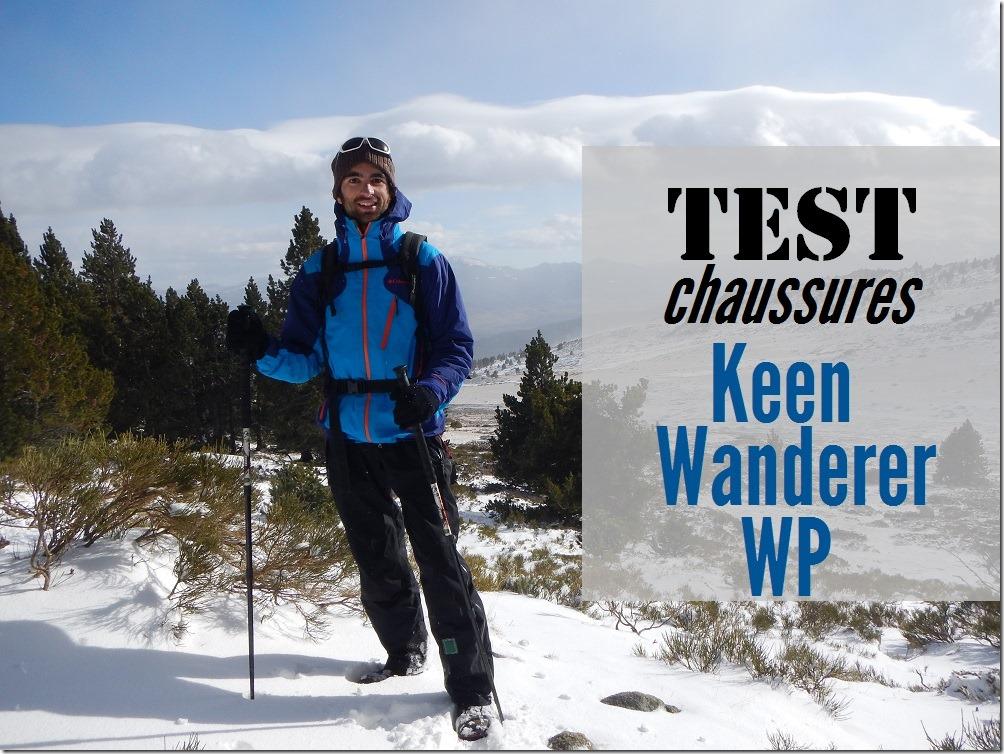 Test Chaussures Keen Wanderer WP
