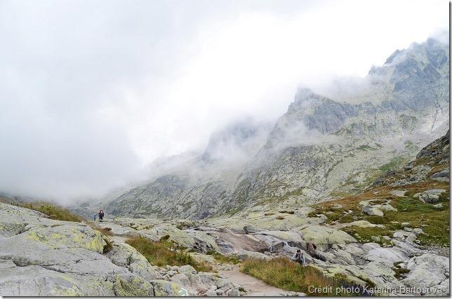 La visibilité ne doit pas être négligée en randonnée