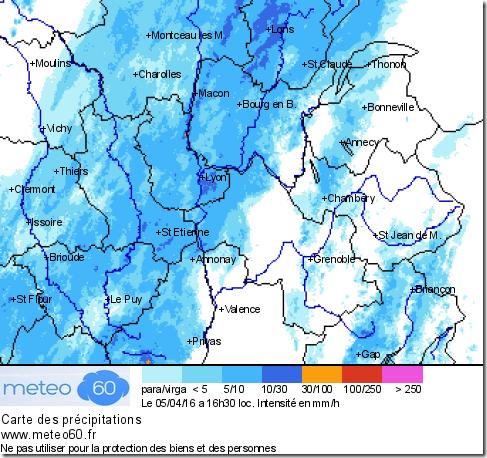 radar météo 60 Centre-Est