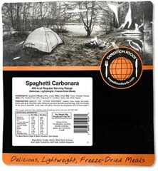 Expedition Foods Spaghetti carbonara