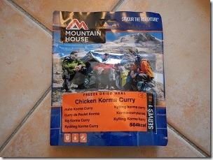 Mountain House Chicken Korma Curry