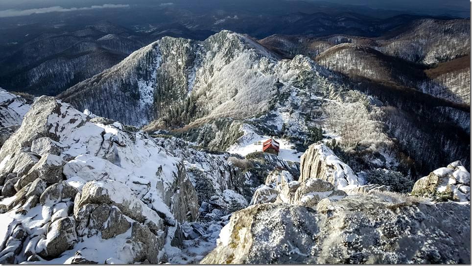 Via Dinarica - Refuge mont Risnjak