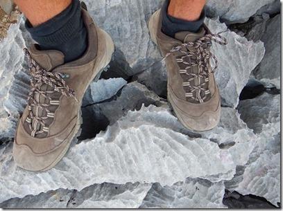 Test chaussures de randonnée Berghen - lapiaz