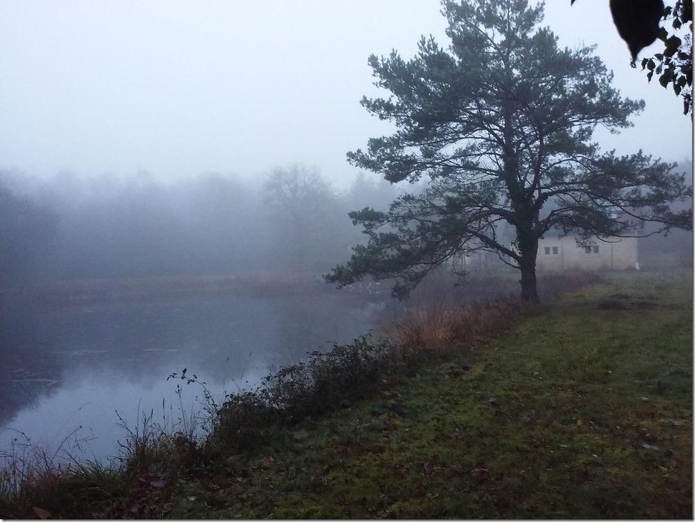… mais réveil brumeux le lendemain matin ! – S. Broqua