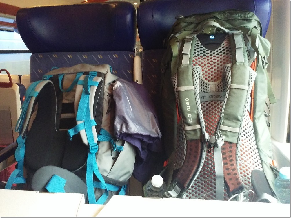 Nos sacs - GR10