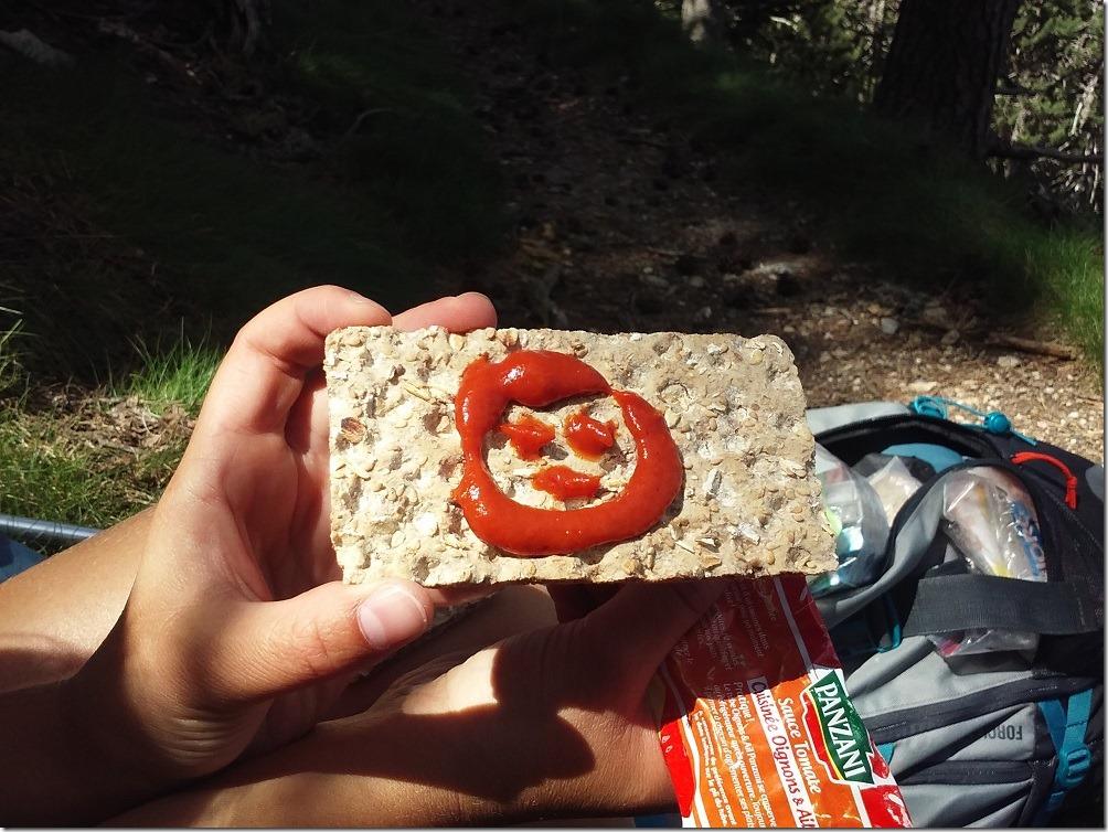GR10 - Ou comment rendre des crackers plus appétissants…