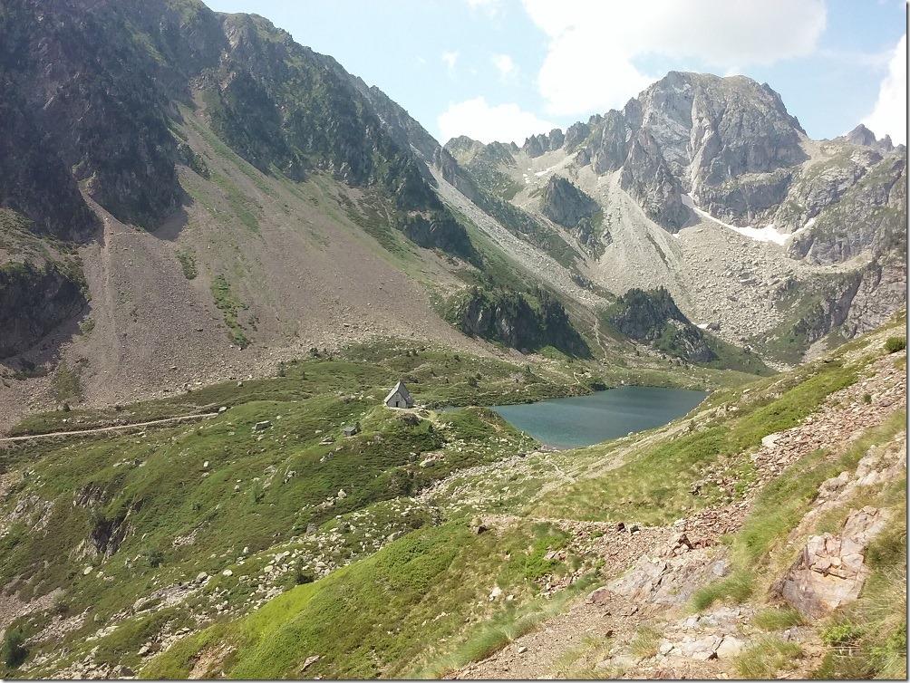 GR10 - refuge du lac d'Ilhéou