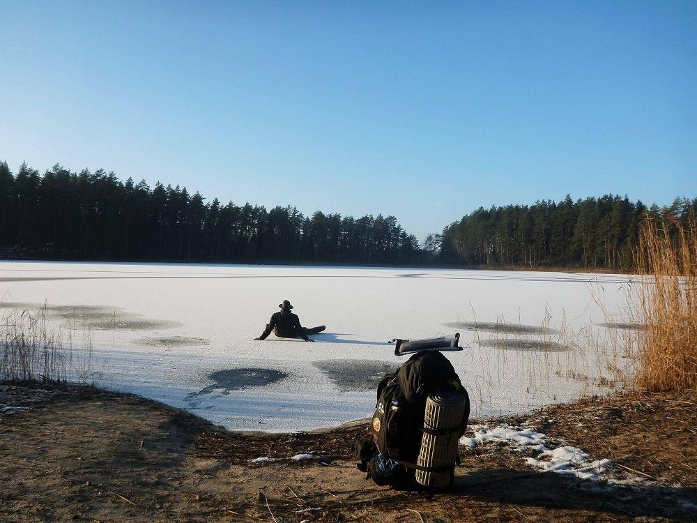 L'hiver dans les pays baltiques est pour moi une occasion d'apprendre à survivre au froid extrême