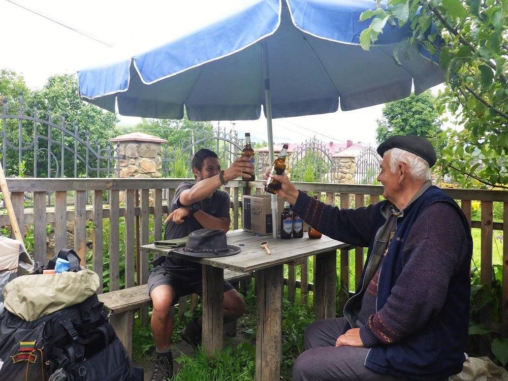 Des rencontres simples le temps d'une bière sont parfois aussi belle que celle plus profonde