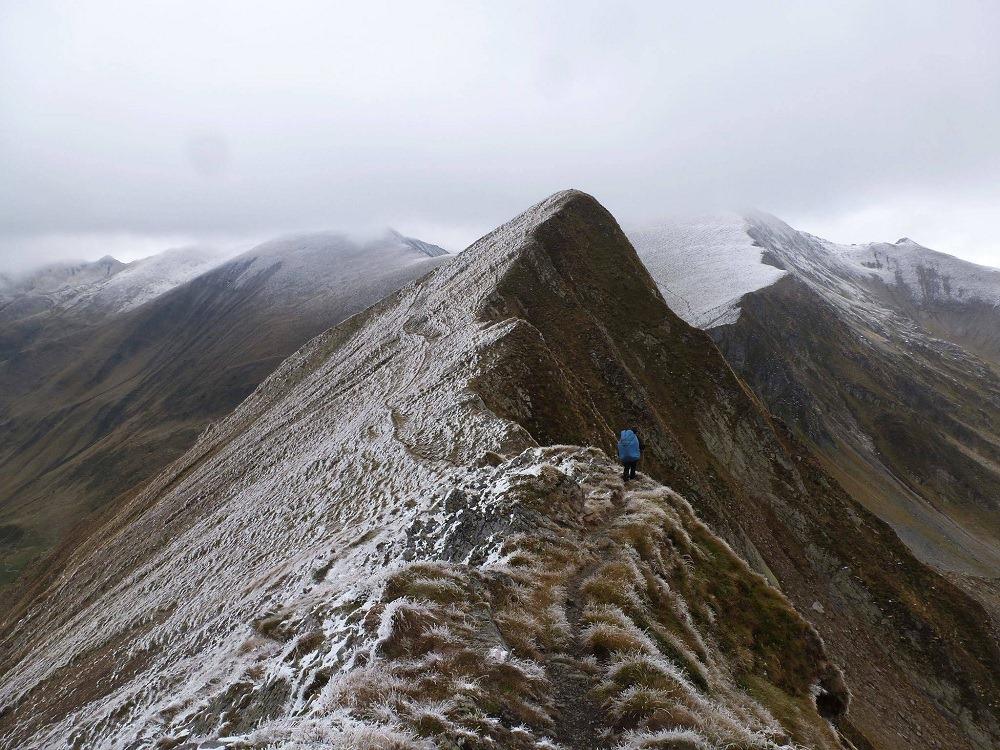 Les massifs de Roumanie sont majestueux et froid