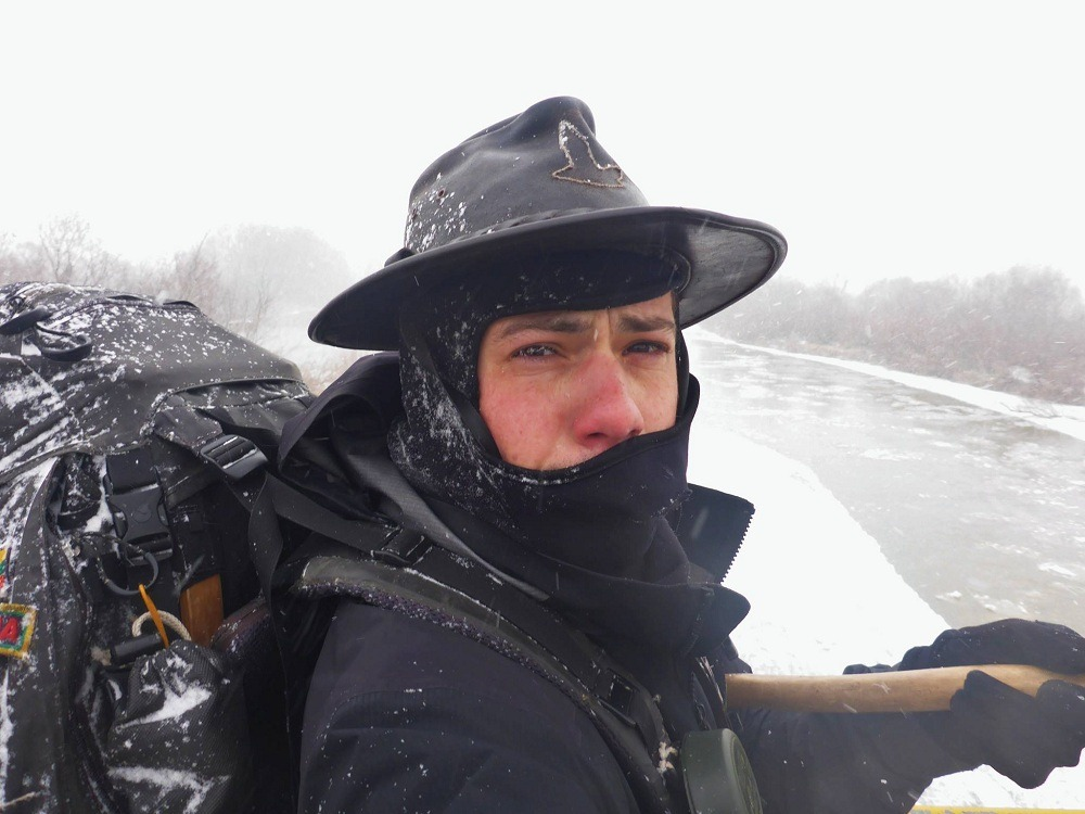 L'hiver en Grèce est loin d'être chaud : marcher à travers l'Europe