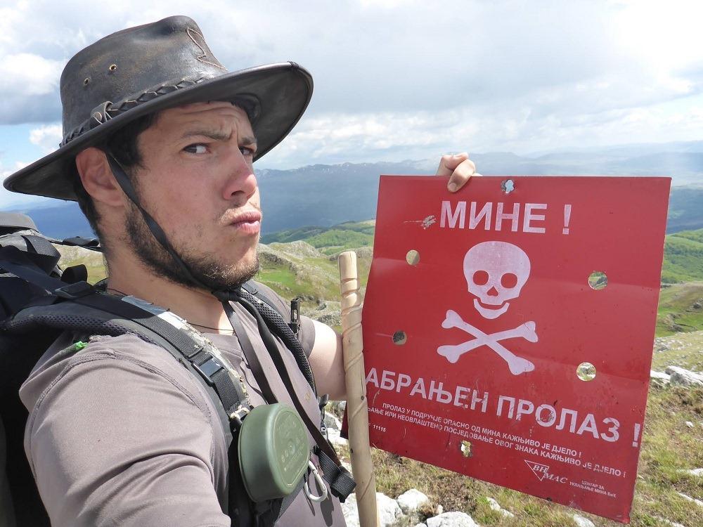 Les mines de Bosnie sont un sujet assez effrayant