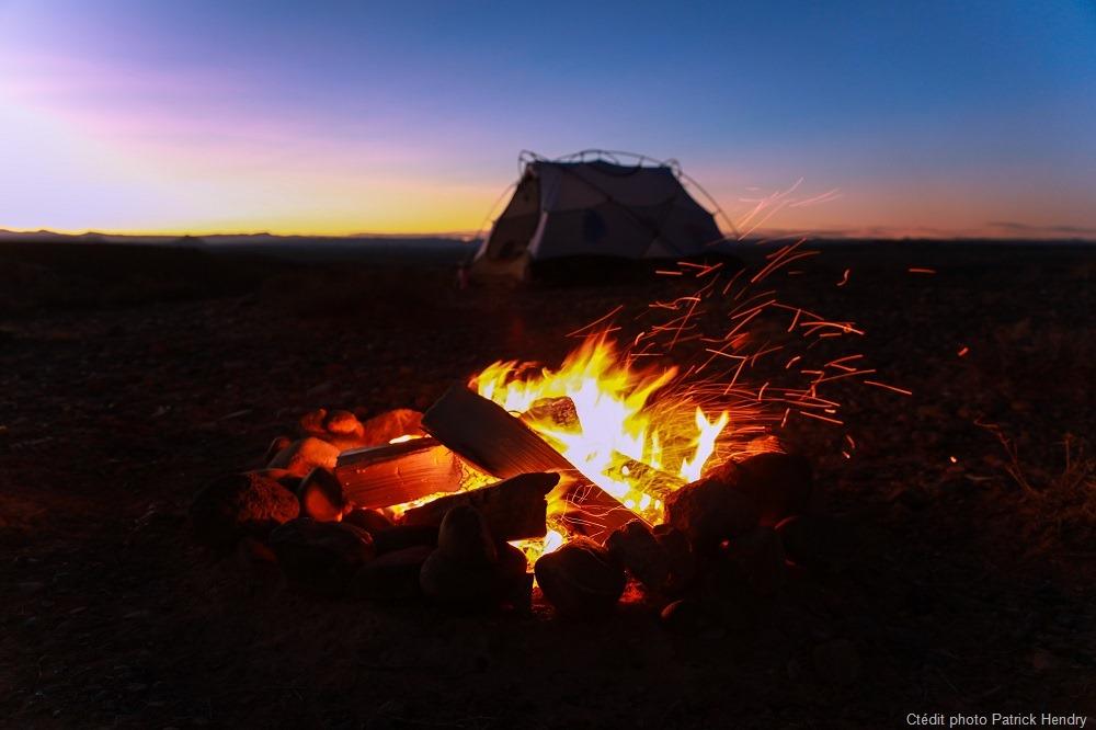 Bonnes pratique pour un feu au bivouac