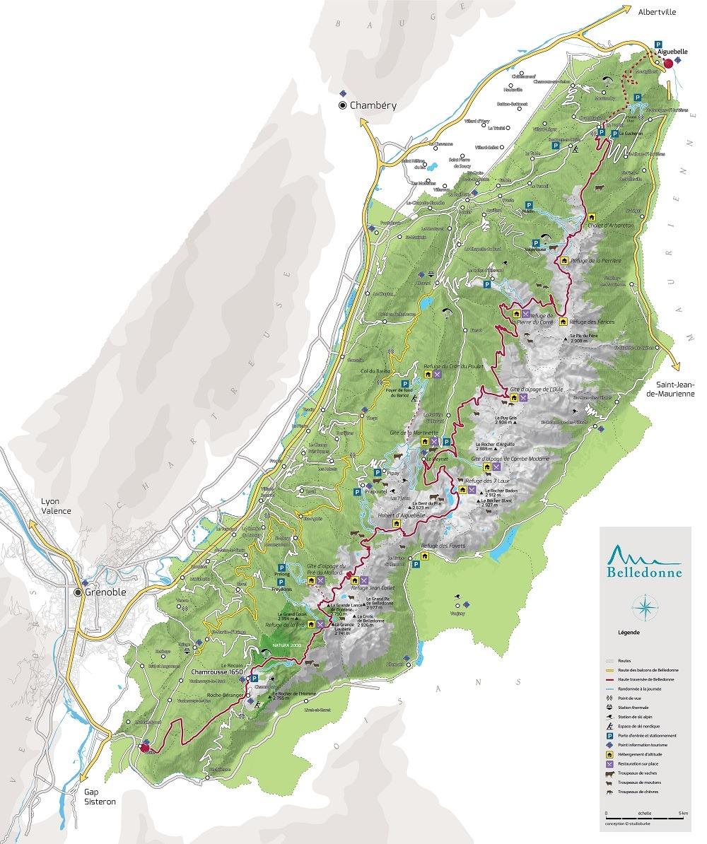 Massif de Belledonne - GR738