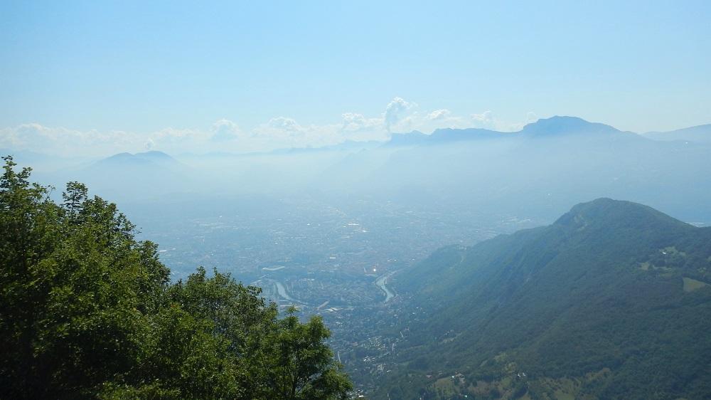 Panorama : Grenoble et La Tronche