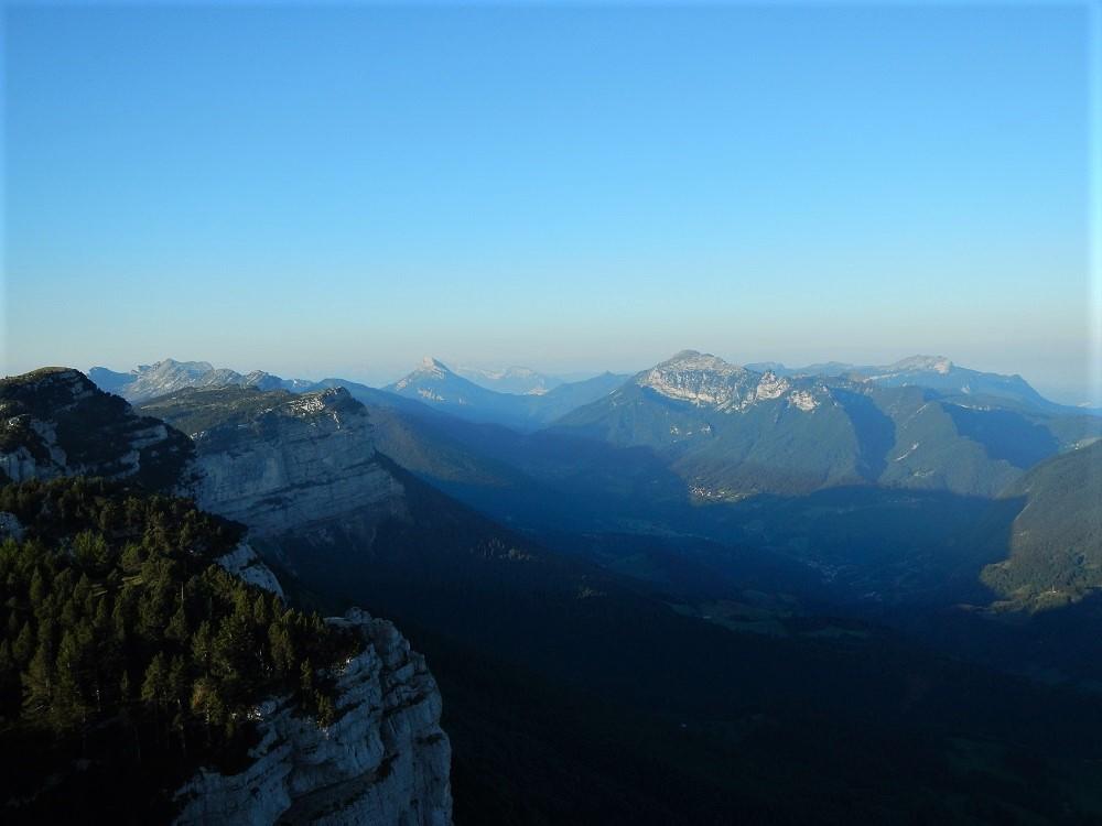Vues du sommet du mont Granier