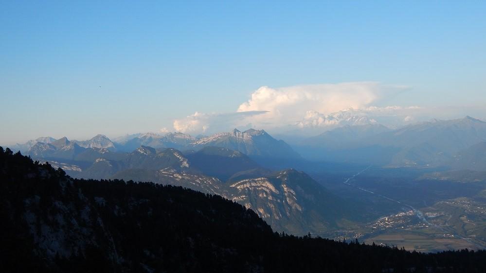 Massifs des Bauges et du Mont-Blanc