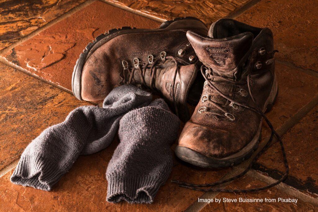 Activité en lien avec la randonnée : entretenir son matériel