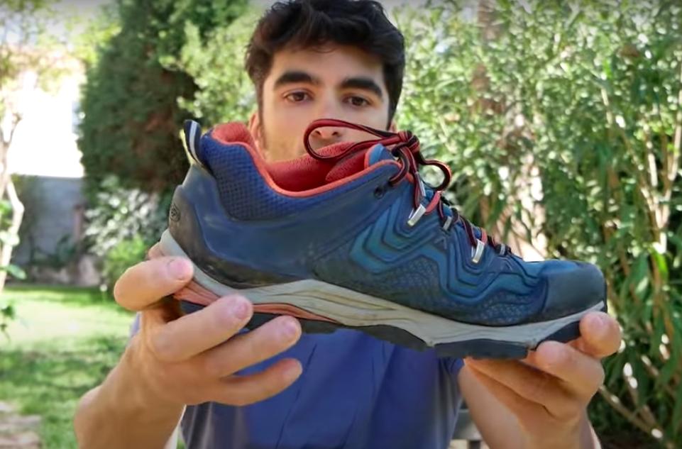 Aspect des chaussures de randonnée à tige basse Keen Aphlex