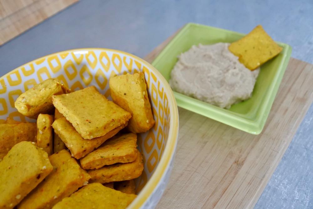 Les crackers, un en-cas polyvalent !