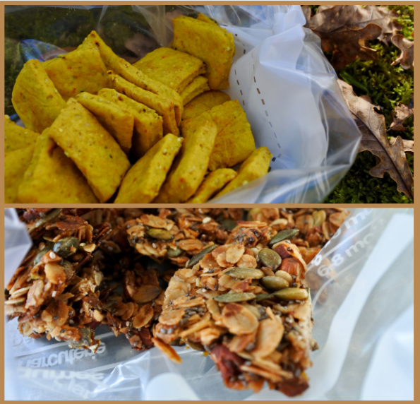 2 recettes de snacks de randonnée faits maison